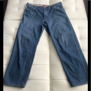 Nautica Men's Blue Jeans Relaxed Fit Size 38/32